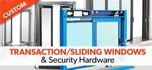 Wide Selection of Durable Sliding Windows & Security Hardware Available